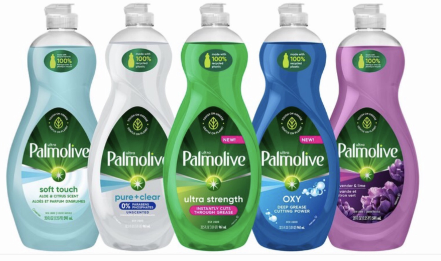 Palmolive Unveils 100% Post-Consumer Recycled Plastic Bottles in Drive toward Circular Economy